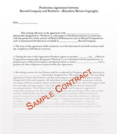 Simple Business Contract. Writing Service Agreements,Photography ...